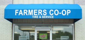 Farmer's Co-op Automotive exterior: Tire & Service