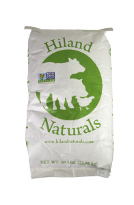 Hiland Naturals feed available at Farmers Coop