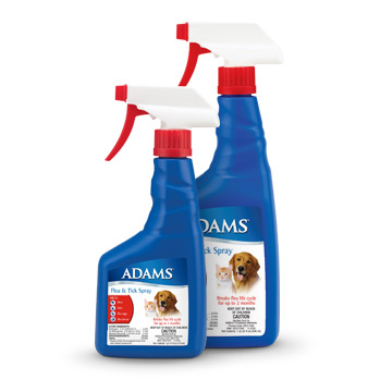 adams flea spray