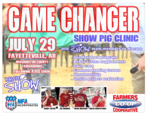 show pig clinic