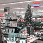 Christmas Tree Challenge at Farmers Coop Decatur