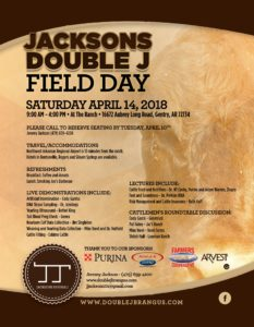 Jacksons Double J Field Day