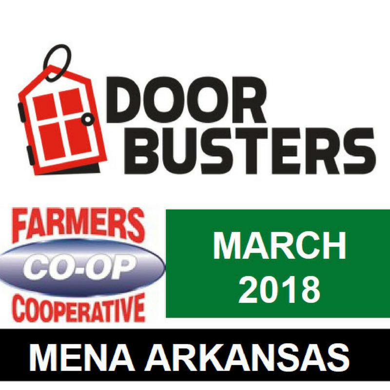 Mena Farmers Coop March Door Busters » Mena March 18 Door buster Canva  sc 1 st  Farmers Coop & Mena March 18 Door buster Canva :: Farmers Co-op \u0026 Noah\u0027s Pet \u0026 Wild ...