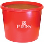 W&R Red Purina tub for cow feeds