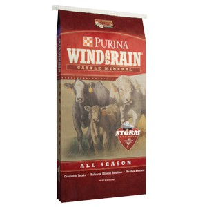 Wind and Rain All Season Minerals Cow Feeds