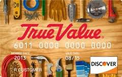 true value discover card