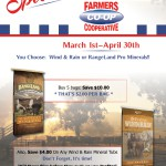 Farmers Coop Cattle Mineral Savings Special