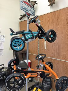 A selection of Berg Pedal Go Carts