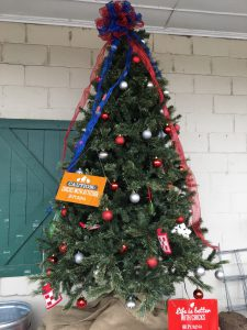 Farmers Coop Fayetteville's Christmas Tree for the 2017 Christmas Tree Challenge