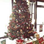 Farmer's Co-op Ft. Smith's Christmas tree for the 2017 Christmas Tree Challenge