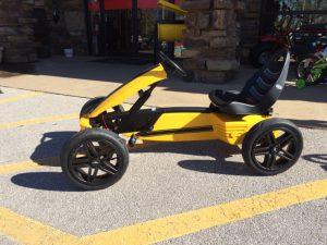 Berg Yellow Rally Pedal Go Carts