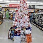 Farmer's Co-op Lincoln's Christmas tree for the 2017 Christmas Tree Challenge