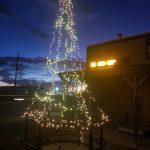 Farmers Coop Springdale's Christmas Tree for the 2017 Christmas Tree Challenge