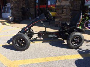 Go cart available at Farmer's Co-op