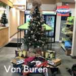 Christmas Tree Challenge at Farmers Coop Van Buren