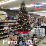 Christmas Tree Challenge at Farmers Coop Mena