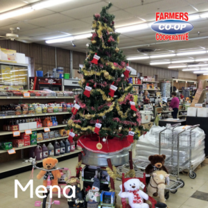 Christmas Tree Challenge at Farmers Coop Mena