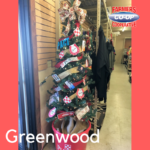 Christmas Tree Challenge at Farmers Coop Greenwood