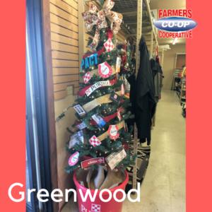 Christmas Tree Challenge at Farmers Coop Greenwood