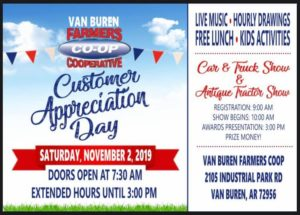 Farmers Coop Van Buren Customer Appreciation Car & Truck Show
