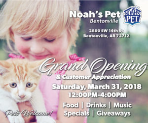 Noah's Pet Bentonville Grand Opening