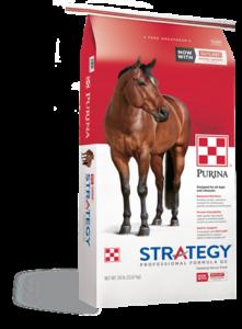 Purina Strategy Horse Feeds