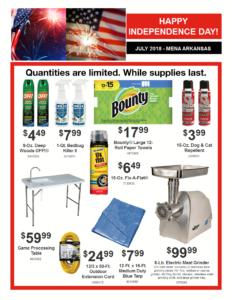 july doorbuster specials