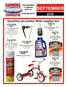 September Doorbuster Specials
