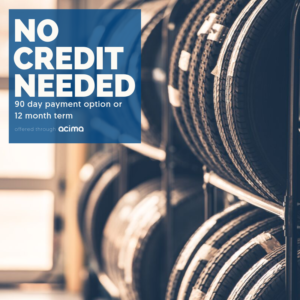 ACIMA Credit 90 Day Payment Option available at Farmers Coop Service Station in Van Buren, Arkansas.