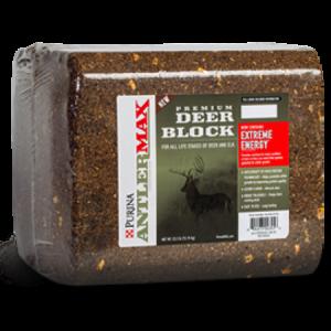 Purina AntlerMax Deer 33 lb Block