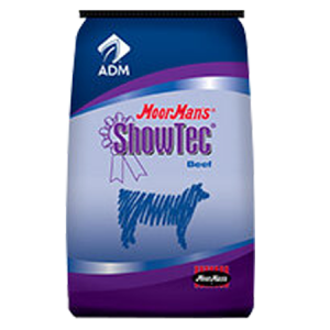 ADM MoorMans ShowTec Cattle Grower BT. Feed bag for cattle.