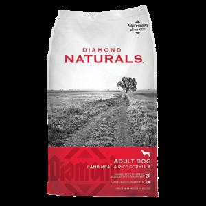Diamond Naturals Adult Lamb and Rice Dry Dog Food