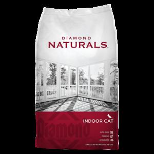 Diamond Naturals Indoor Formula Dry Cat Food Bag