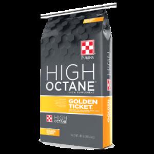 Purina High Octane Golden Ticket.