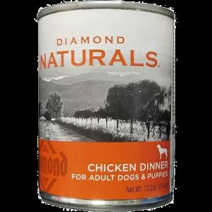Diamond Naturals Chicken Dinner Canned Dog Food